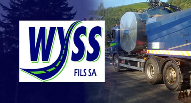 Wyss Fils SA - Entreprise familiale de travaux routier