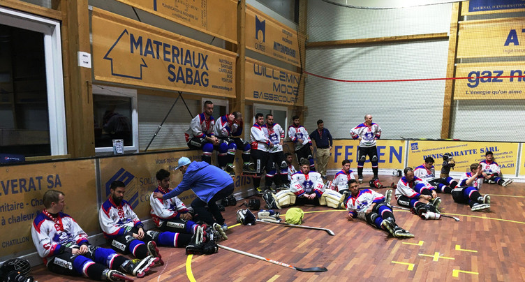 Suspension de l'inline hockey