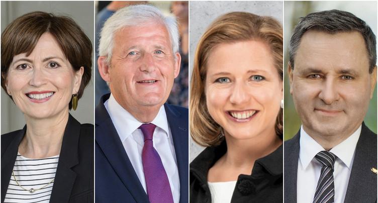 Élection au Conseil des États : Werner Salzmann et Hans Stöckli en tête