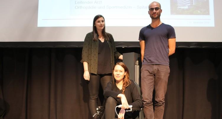 Des Neuchâtelois développent une chaise roulante révolutionnaire