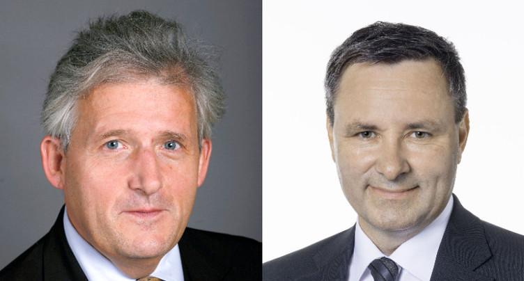 Werner Salzmann et Hans Stöckli élus au Conseil des Etats