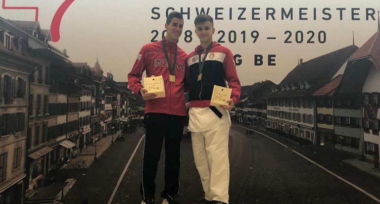 Matias Moreno Domont et Arben Pjetraj champions de Suisse