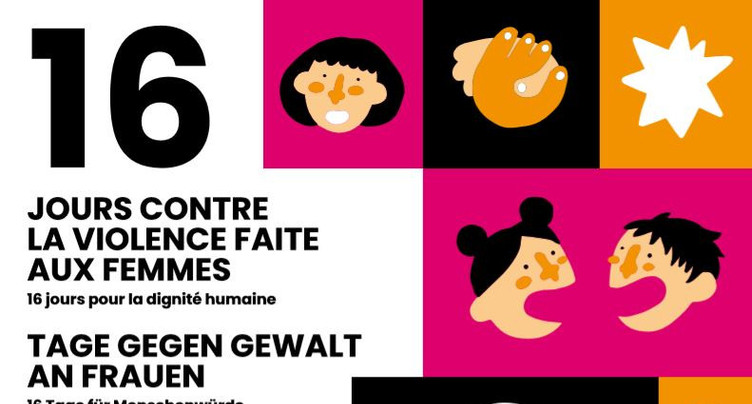 16 jours pour s'élever contre la violence faite aux femmes