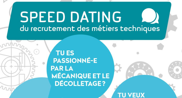 Un premier speed dating de la technique à Moutier