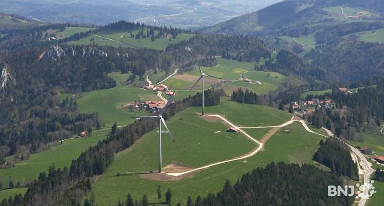 Nouvel assaut contre les éoliennes dans le Jura