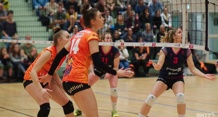 Derby à sens unique en Ligue A de volleyball
