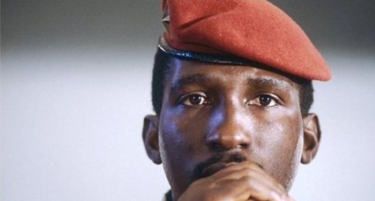 Au mur les yeux bandés - Thomas Sankara