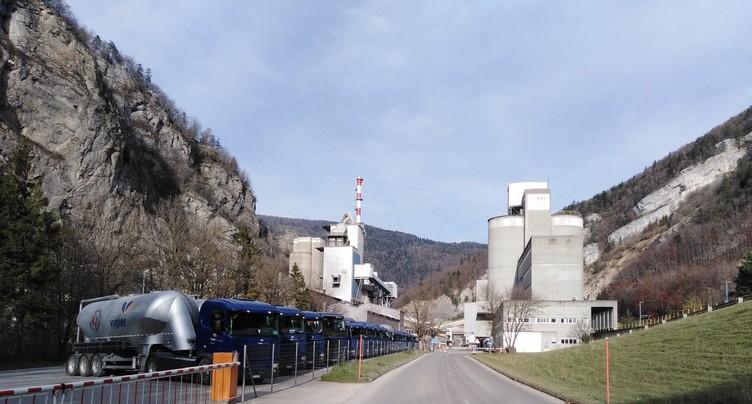 La cimenterie Vigier devra réduire ses émissions