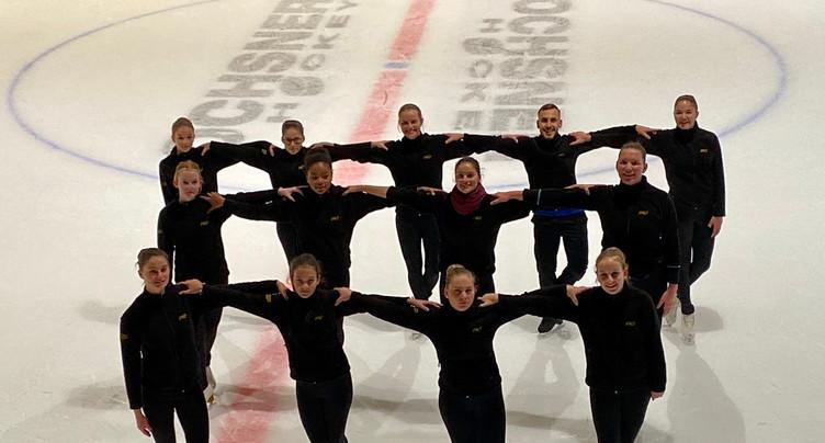 « Je m'entraîne avec » le Team Ice Phoenix