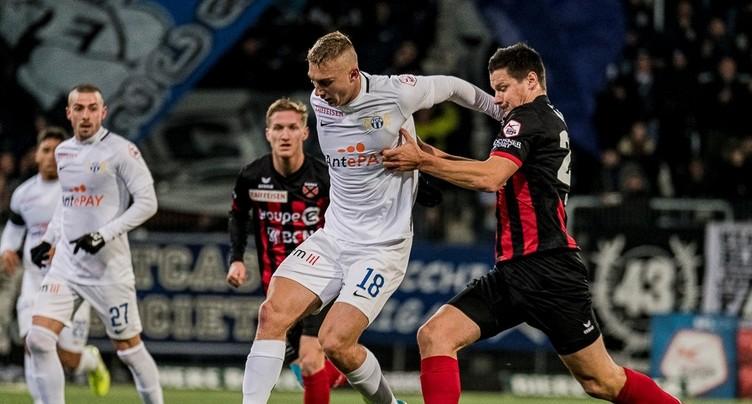Troisième défaite d'affilée pour Neuchâtel Xamax FCS