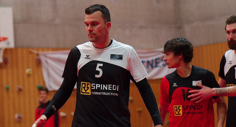 Colombier Volley s'amuse avec la lanterne rouge