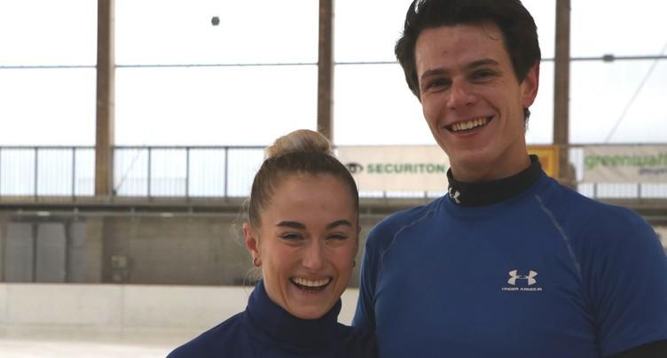 « Je m'entraîne avec » Nicolas Roulet et Alexandra Herbrikova