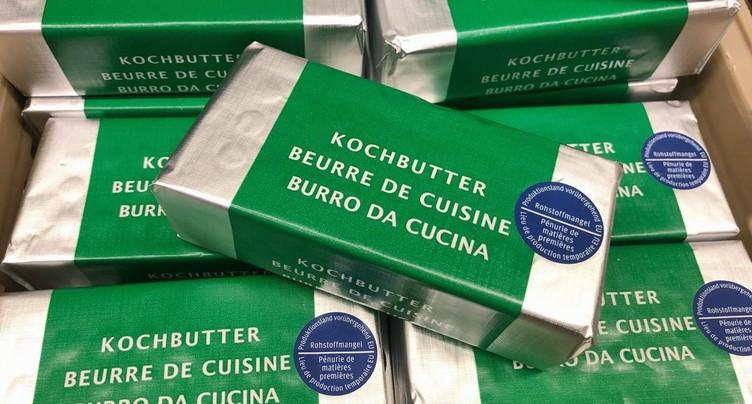 Faute de crème suisse, Migros vend du beurre européen