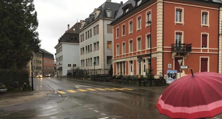 Le réaménagement de la rue Jospeh-Trouillat devant le Parlement