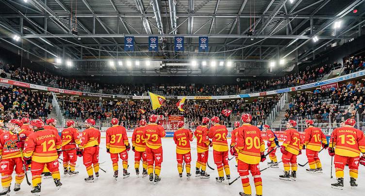 Le HC Bienne prêt à faire tomber le champion