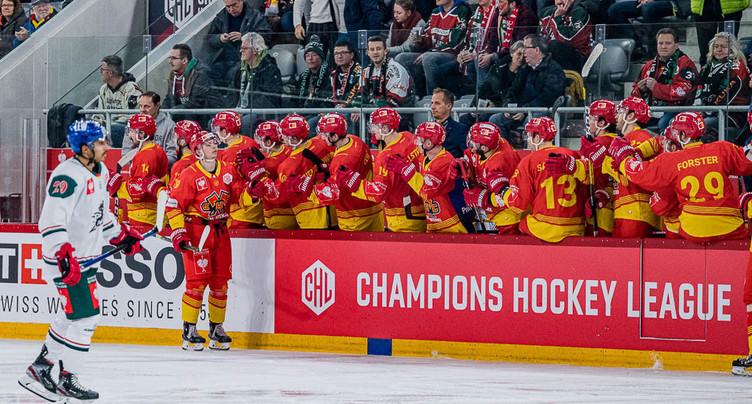 La Ligue des Champions 2020/2021 à l'horizon pour le HC Bienne