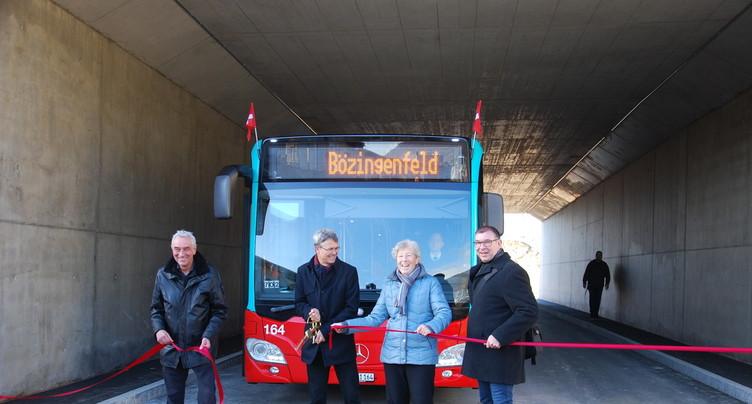 Un nouvel itinéraire pour les bus à Bienne