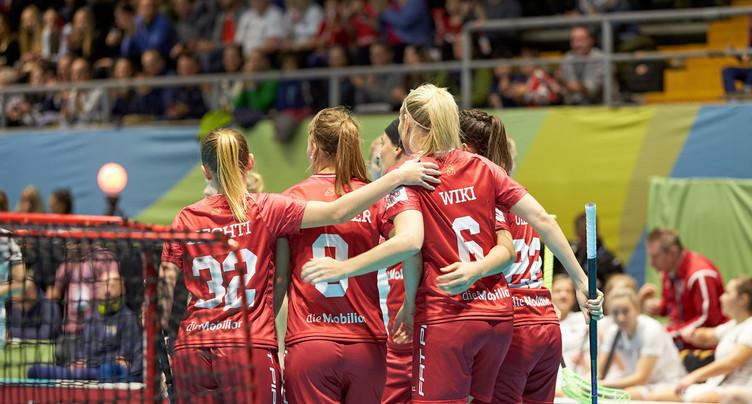 Un troisième succès pour les Suissesses en unihockey