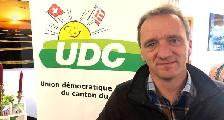 L'UDC Jura lance Romain Schaer dans la course au Gouvernement