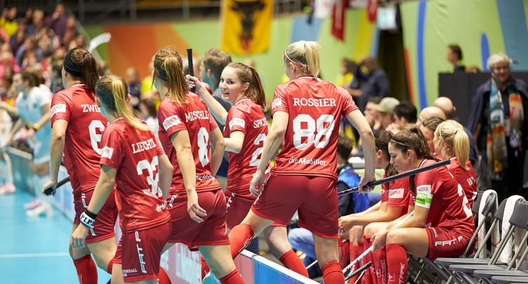 Unihockey: les Suissesses en demi-finales