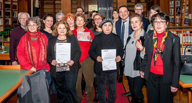 Deux lauréats pour le Prix Salut l'étranger 2019