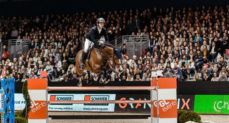 Steve Guerdat rate le podium au CHI de Genève