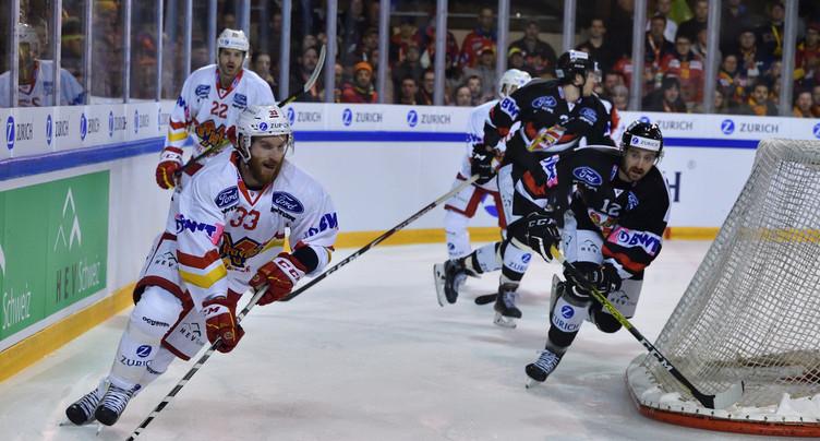 Le HC Bienne contre Sion en Coupe de Suisse