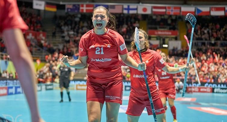 Unihockey : les Suissesses en argent