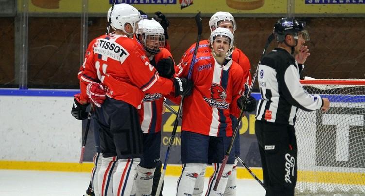 Le HC Uni s'offre un premier puck de demi-finale