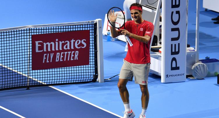 Entame facile pour Roger Federer