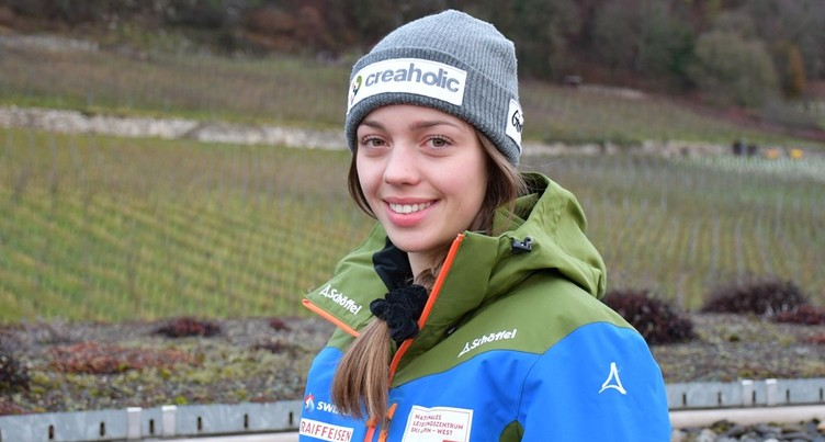 Amélie Klopfenstein sera aux JO de la jeunesse