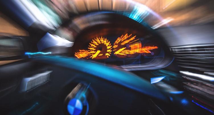 Une voiture flashée à 152 km/h à St-Aubin
