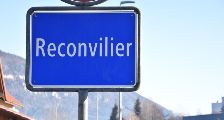 La population de Reconvilier suit ses autorités
