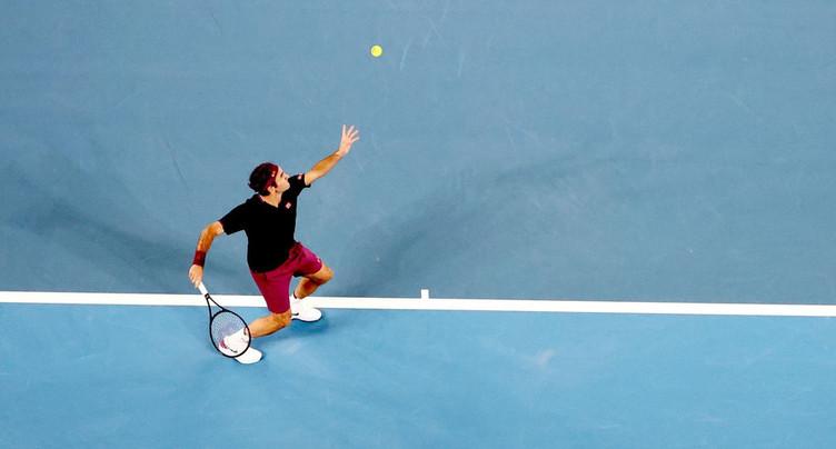 La promenade de Roger Federer