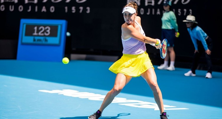 Belinda Bencic se hisse en seizièmes