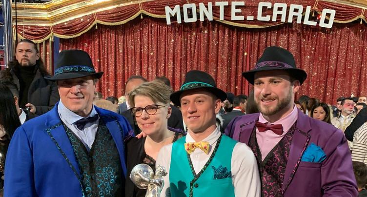 Le Jurassien Johnny Gasser distingué à Monte-Carlo