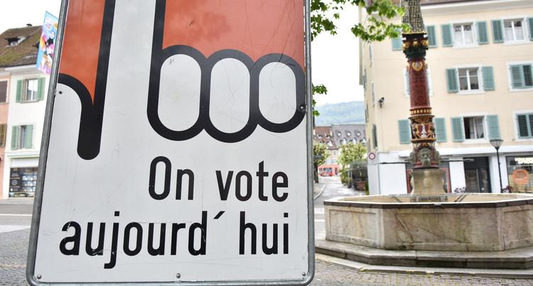 Le Jura approuve l'initiative anti-burqa, mais refuse les deux autres objets