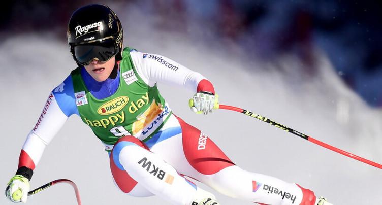 Premier podium de l'hiver pour Lara Gut-Behrami