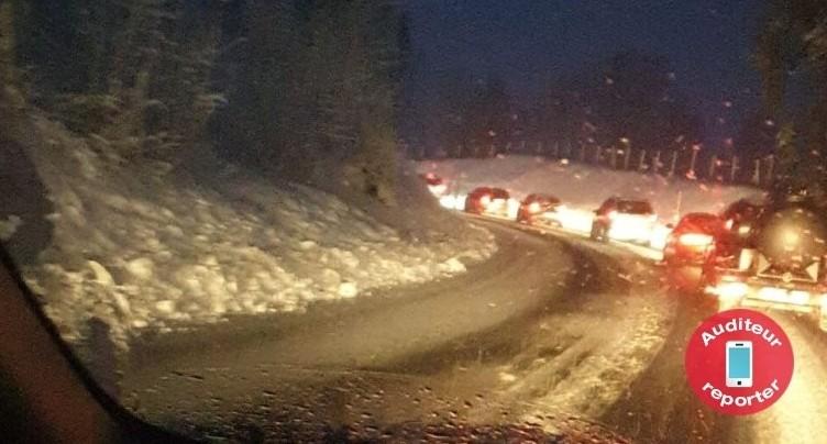 Retour de la neige remarqué sur les routes neuchâteloises