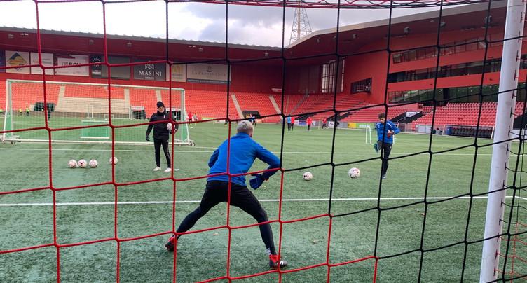 « Je m'entraîne avec » les gardiens de Neuchâtel Xamax FCS