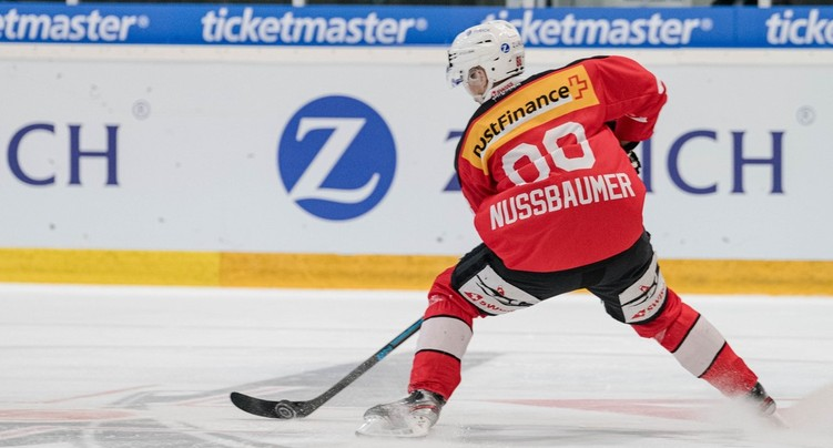 Valentin Nussbaumer au camp des espoirs