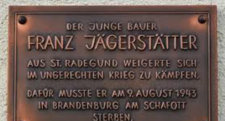 Au mur les yeux bandés - Franz Jägerstätter