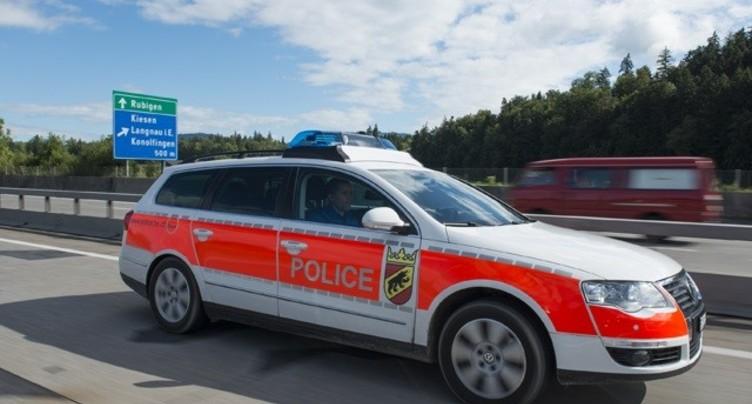 Une collision entre voiture et vélo à Brügg