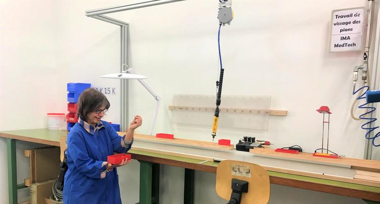 Un atelier des Perce-Neige flambant neuf à La Chaux-de-Fonds