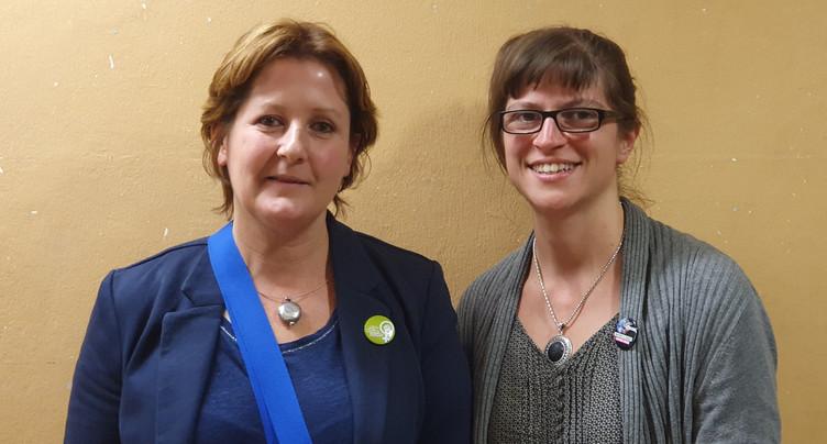 Un duo féminin à la tête des Verts jurassiens