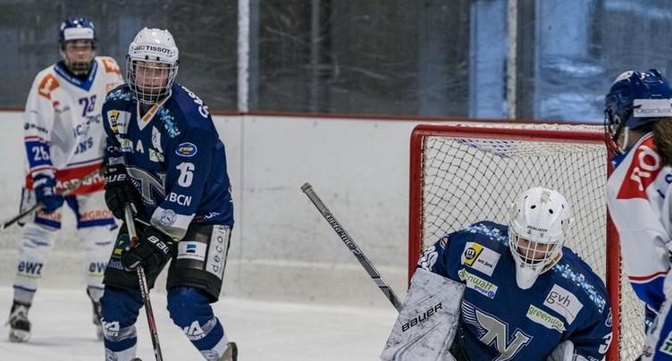 La Neuchâtel Hockey Academy égalise en play-off