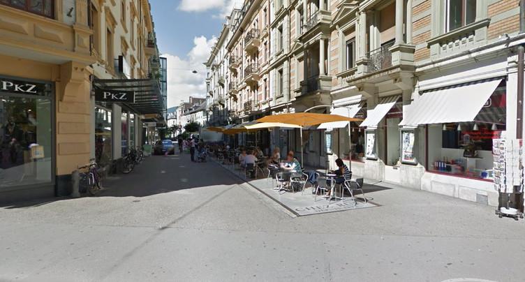 Des travaux à la rue Jean-Sessler à Bienne