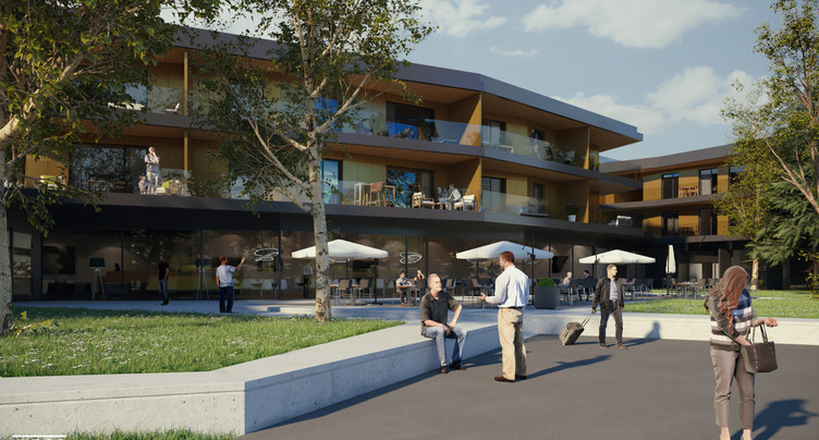 Construction d'appartements pour les séniors à St-Aubin-Sauges