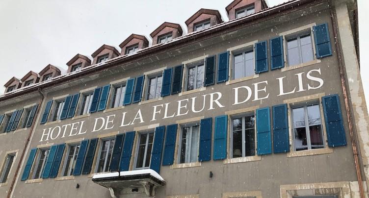 Inauguration officielle de l'Hôtel de la Fleur de Lis au Locle