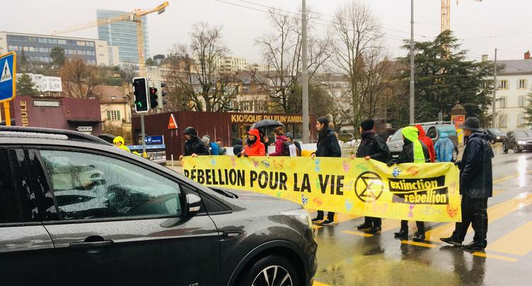 Extinction Rebellion : activistes condamnés à Neuchâtel